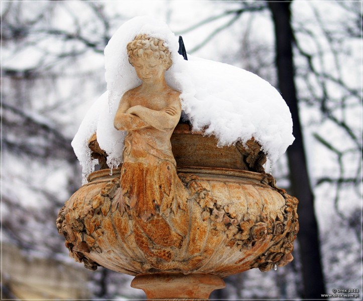 Wilanów, rzeźba.