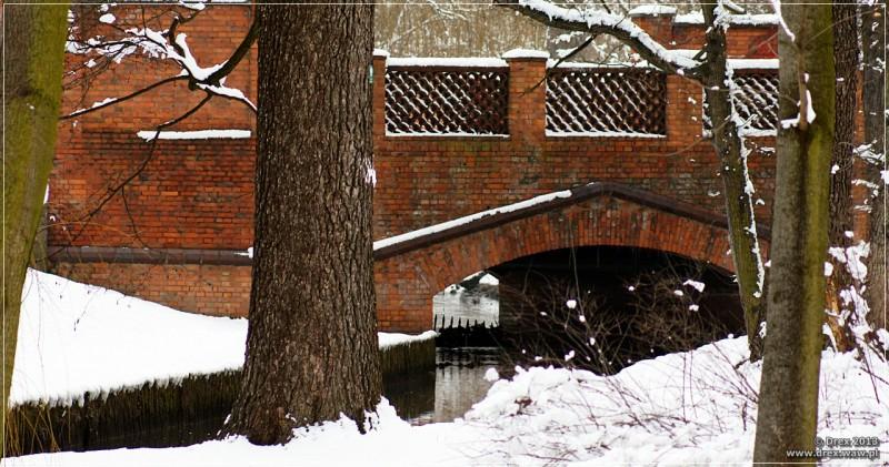Wilanów, most.