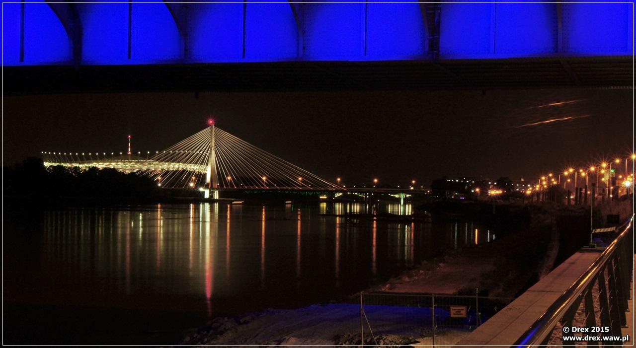 Most Świętokrzyski i Stadion Narodowy