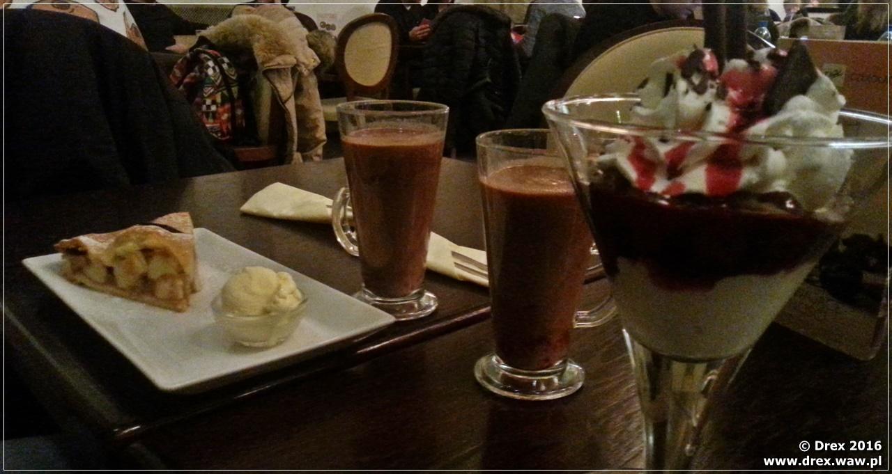 Kraków, pijalnia czekolady